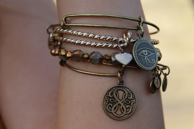 Alex and Anis, Eye of Horus Alex and Ani, Path of Life Alex and Ani, Arm Candy, How to Stack Bracelets